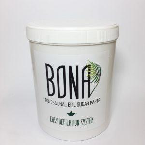 BONA Hard cukraus pasta depiliacijai,  kieta konsist. 1300g.