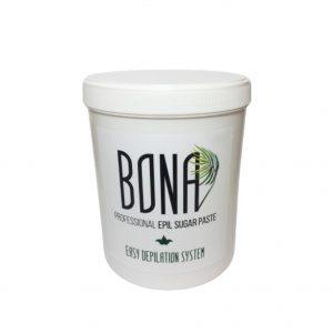 BONA Professional light cukraus pasta depiliacijai, vidutinio kietumo konsist. 1300g.
