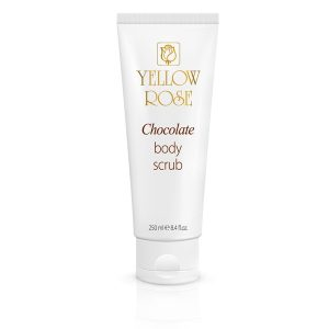 YELLOW ROSE <br /> Kūno šveitiklis su šokoladu – chocolate body scrub, 250ml