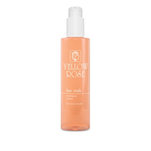 YELLOW ROSE Face Wash with Flower Extracts, 200ml