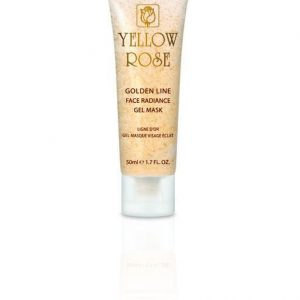 YELLOW ROSE Golden Line Face Radiance Gel Mask, 50ml