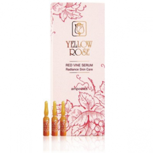 Yellow Rose Red Vine Serum Radiance Skin Care, 3ml