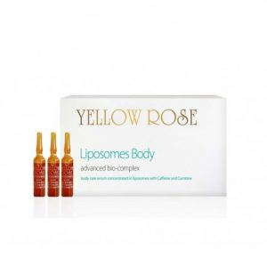 YELLOW ROSE ANTICELIULITINIS LIPOSOMES BODY SLIMMING & FIRMING BIO-COMPLEX, 9ml x 18