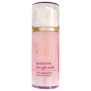YELLOW ROSE Hyaluronic Face Gel Mask, 100ml