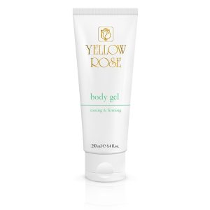 YELLOW ROSE <br /> Anticeliulitinis drėkinamasis kūno gelis – body gel toning & firming, 250ml