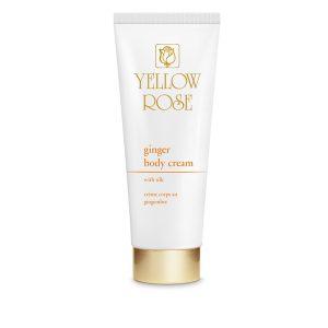 YELLOW ROSE <br /> Liekninatis bei stangrinantis kūno kremas su imbieru ir šilku – ginger body cream, 250ml